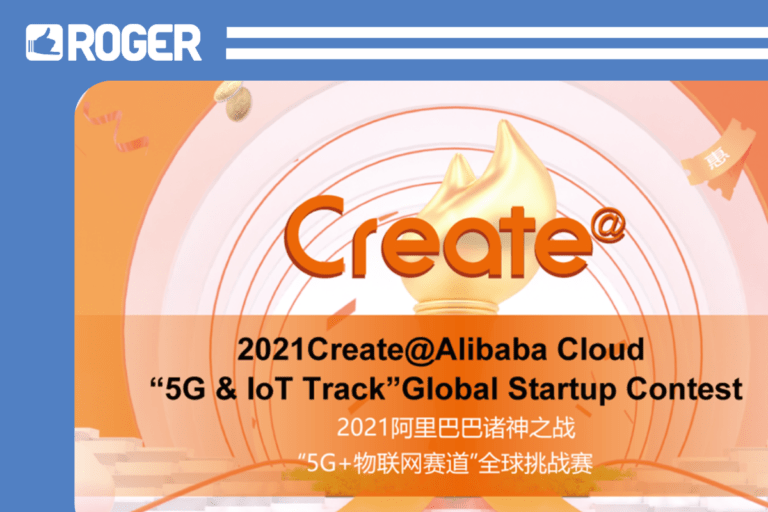ROGER made it to the Top 50 of Alibaba Global Startup Contest ASEAN 2021